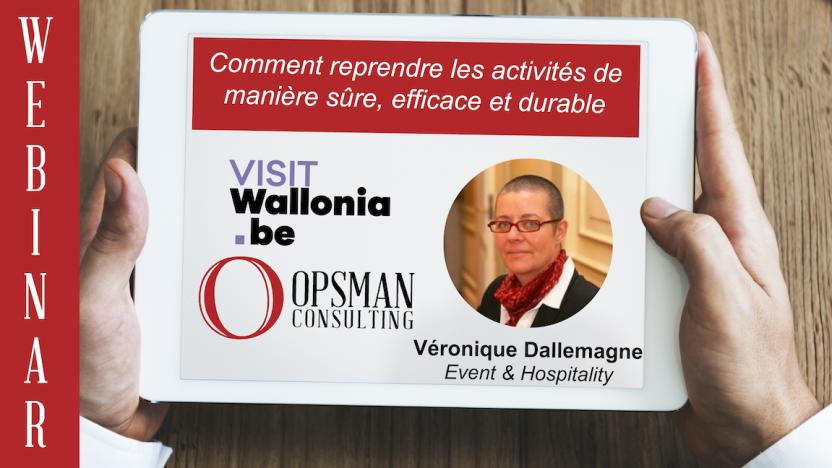 Formation Wallonie Tourisme Belgique  OPSMAN reprise après Covid-19